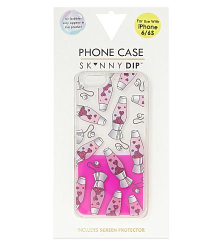 SKINNYDIP Lava lamp iPhone 6/6S case (Pink