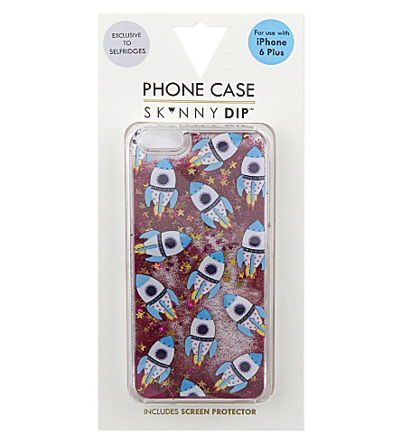 SKINNYDIP Glitter fluid iPhone 6 Plus case (Multi colour