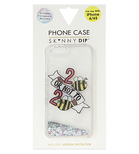 SKINNYDIP 2 bee or not 2 bee iphone 6/6s case (Multi