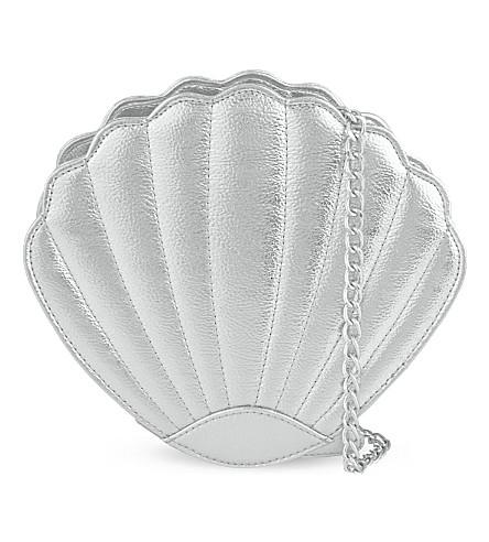 SKINNYDIP Sea shell cross-body bag (Silver