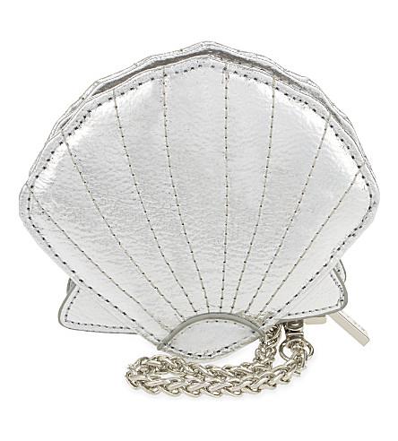 SKINNYDIP Shell coin purse (Silver