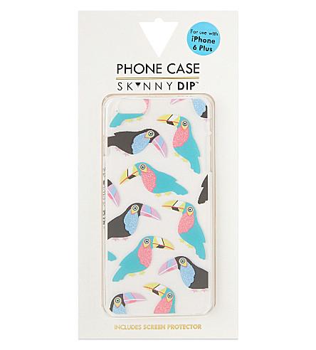 SKINNYDIP Toucan iPhone 6+ case (Multi