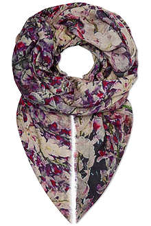 LILY & LIONEL Silk bloom scarf