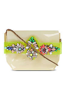 SHOUROUK Perspex clutch