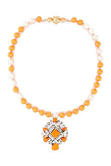 SHOUROUK Rosario bead necklace