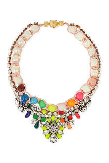 SHOUROUK Theresa pearl rainbow necklace