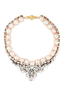 SHOUROUK Theresa pearl and crystal necklace