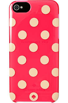 KATE SPADE Polka dot iPhone case