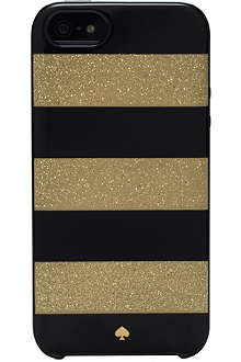 KATE SPADE Glitter Jubilee Stripe iphone 5 case