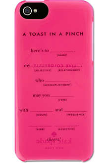 KATE SPADE Toast in a pinch iPhone 5 case