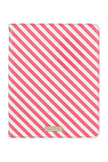 KATE SPADE Candy stripe iPad case