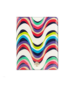 KATE SPADE Brighton wave patent iPad case