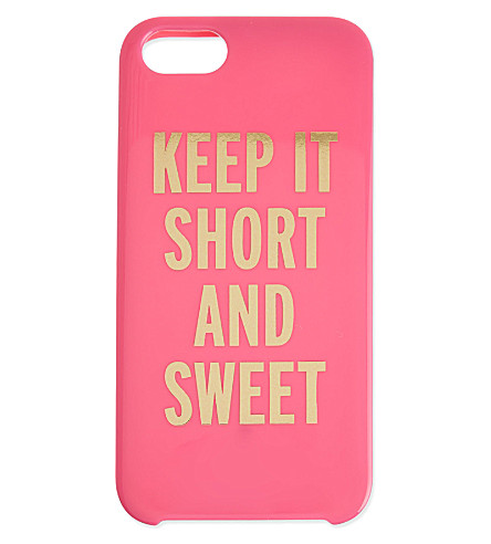 KATE SPADE Sweet iPhone case (Bougainvillea