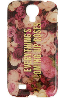 KATE SPADE Roses Samsung cover