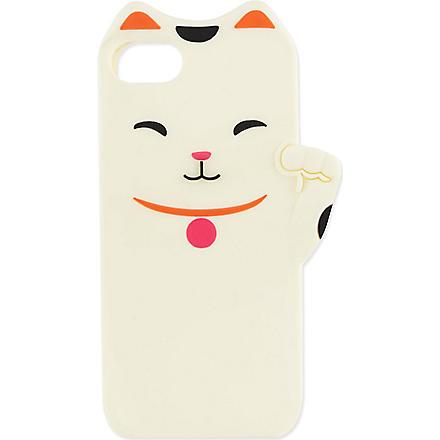 KATE SPADE Lucky cat iPhone 5 case (Cream