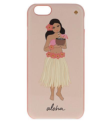 KATE SPADE NEW YORK Jewelled hula girl iPhone 6/6S case (Multi