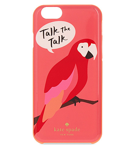 KATE SPADE NEW YORK Talk the talk iPhone 6/6S case (Red multi
