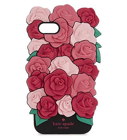KATE SPADE NEW YORK Rose iPhone 7 case (Pink multi