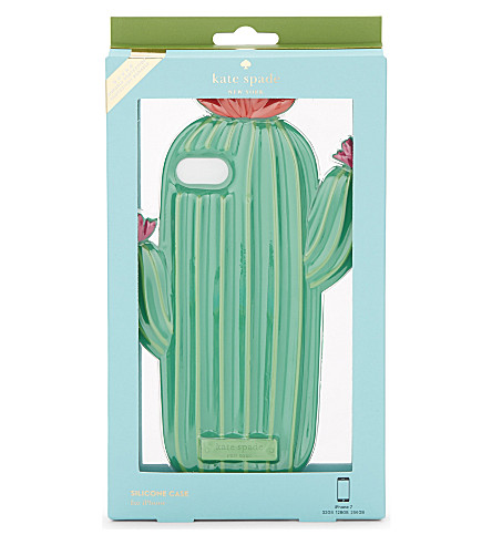 KATE SPADE NEW YORK Silicone Cactus iPhone 7 case (Multi