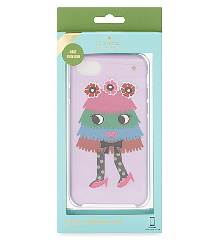 KATE SPADE NEW YORK Make Your Own Piñata Girl iPhone 7 case (Multi