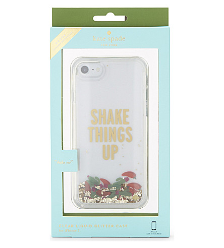 KATE SPADE NEW YORK Shake Things Up iPhone 7 case (Clear+multi