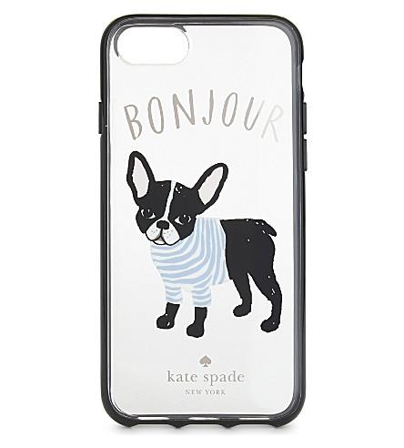 KATE SPADE NEW YORK Bonjour iPhone 7 case (Soft+rose+gold