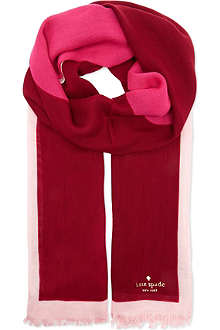 KATE SPADE New york giant apple scarf