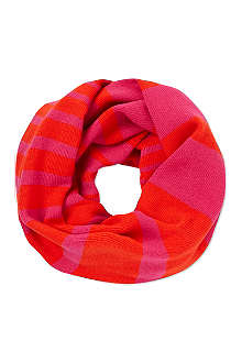KATE SPADE Infinity striped snood scarf
