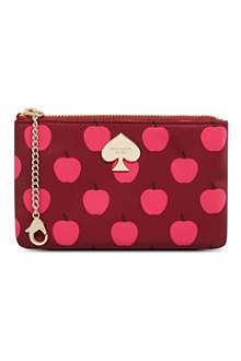 KATE SPADE Apple print purse