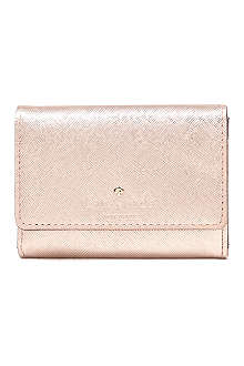 KATE SPADE Cherry Lane leather card wallet