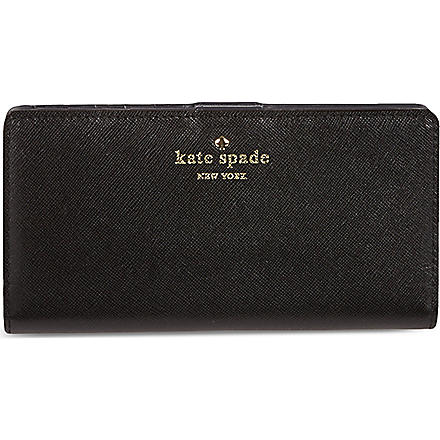 KATE SPADE Cherry Lane Lacey wallet (Black