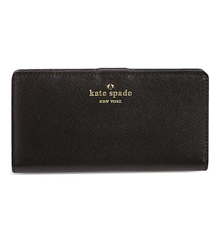 KATE SPADE Cherry Lane Lacey wallet (Black