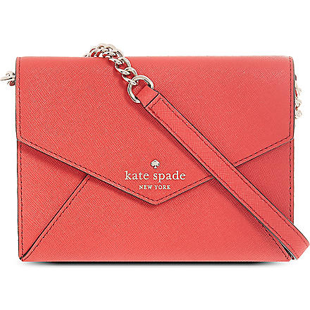 KATE SPADE Envelope cross-body bag (Garnet
