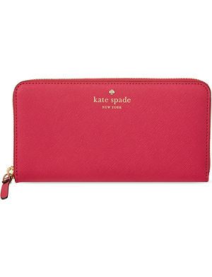 KATE SPADE Lacey continental leather wallet