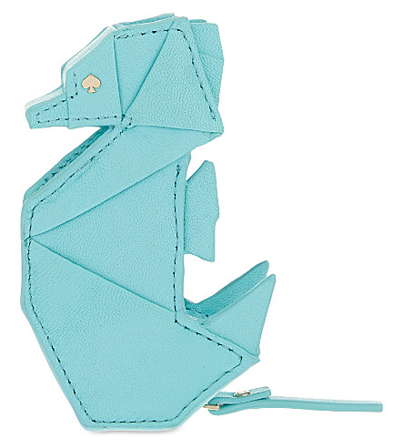 Kate Spade New York Breath Of Fresh Air Origami Seahorse Leather
