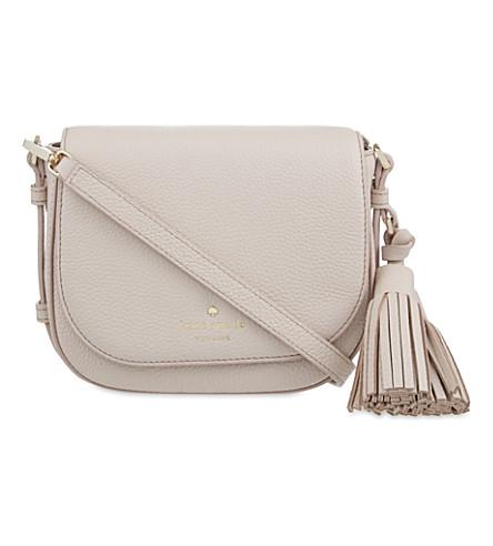 KATE SPADE NEW YORK Orchard street penelope small leather shoulder bag (Crisp linen