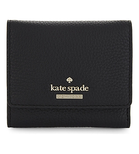KATE SPADE NEW YORK Jackson Street Jada leather wallet (Black