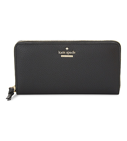 KATE SPADE NEW YORK Jackson Street Lacey wallet (Black