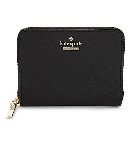 KATE SPADE NEW YORK Cameron Street Lainie leather purse (Black