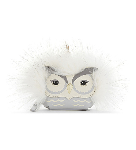 KATE SPADE NEW YORK Star Owl leather coin purse (Multi