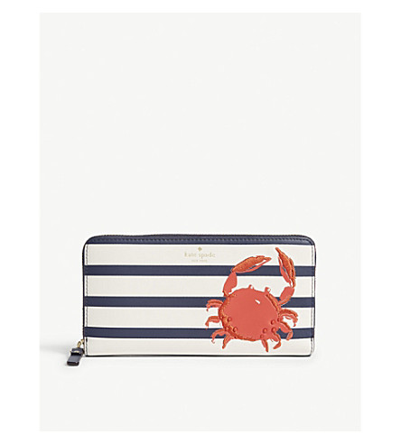 KATE SPADE NEW YORK Lacey crab leather purse (Multi