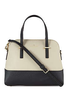 KATE SPADE Masie two-tone leather shoulder bag