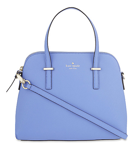 KATE SPADE NEW YORK Cameron Street Maise leather shoulder bag (Delphinium
