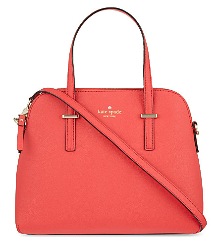 KATE SPADE NEW YORK Cameron Street Maise leather shoulder bag (Geranium