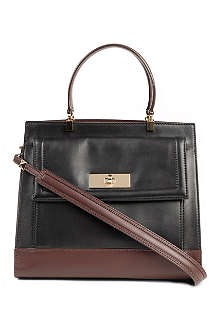 KATE SPADE Valedictorian leather satchel