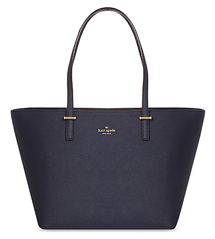 KATE SPADE NEW YORK Cedar Street Harmony small leather tote (Offshore