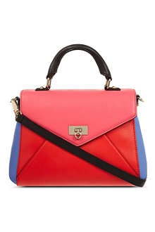 KATE SPADE Little Nadine leather envelope satchel