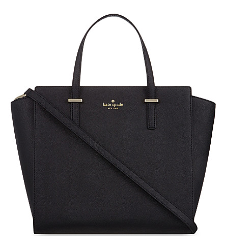 KATE SPADE NEW YORK Cedar Street Hayden leather tote (Black