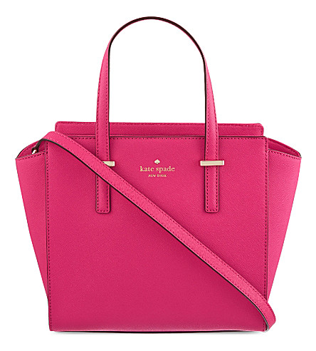 KATE SPADE NEW YORK Hayden Cedar Street small leather tote (Sweetheart pink