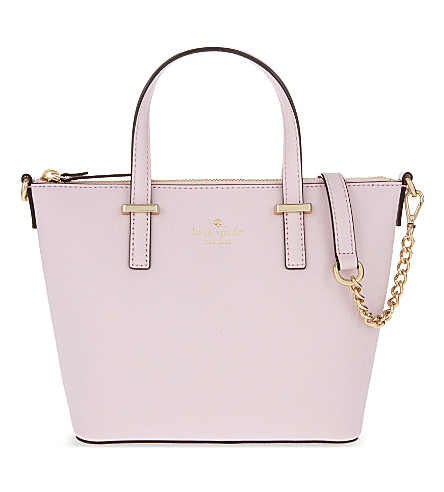 KATE SPADE NEW YORK Cedar Street Harmony cross-body bag (Pink+blush